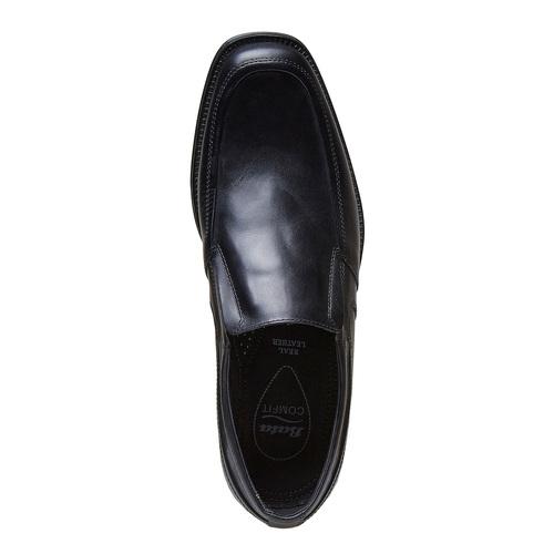 Loafer in pelle da uomo, nero, 814-6168 - 19