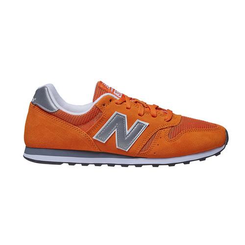 Sneakers in pelle da uomo new-balance, arancione, 803-3107 - 15
