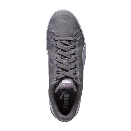 Sneakers grigie da uomo puma, grigio, 889-2220 - 19