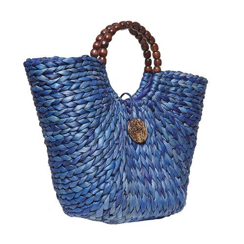 Borsetta blu da donna bata, viola, 969-9410 - 13