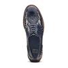 Scarpe basse stringate blu bata, blu, 521-9657 - 15