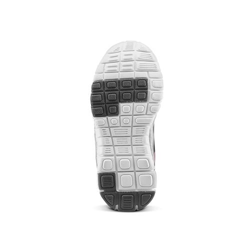 Sneakers da bambina con glitter, nero, 229-6175 - 17