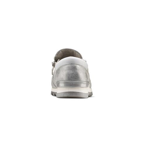 Sneakers glitter, argento, 329-1298 - 16