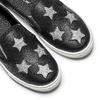 Slip-on con stelle north-star, nero, 324-6274 - 19