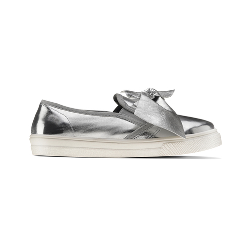 Slip-on silver con fiocco north-star, bianco, 321-1311 - 26