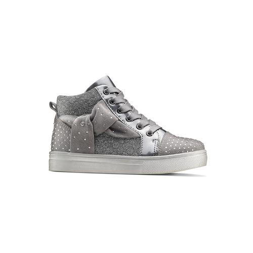 Sneakers con fiocco mini-b, grigio, 229-2205 - 13