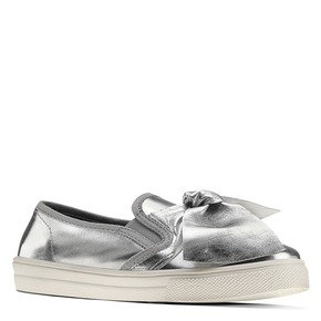 Slip-on silver con fiocco north-star, bianco, 321-1311 - 13