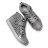 Sneakers alte con zip mini-b, grigio, 329-2303 - 19
