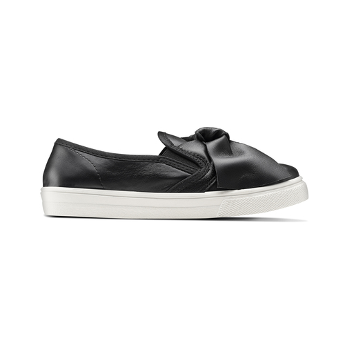 Sneakers nere con fiocco north-star, nero, 321-6311 - 26