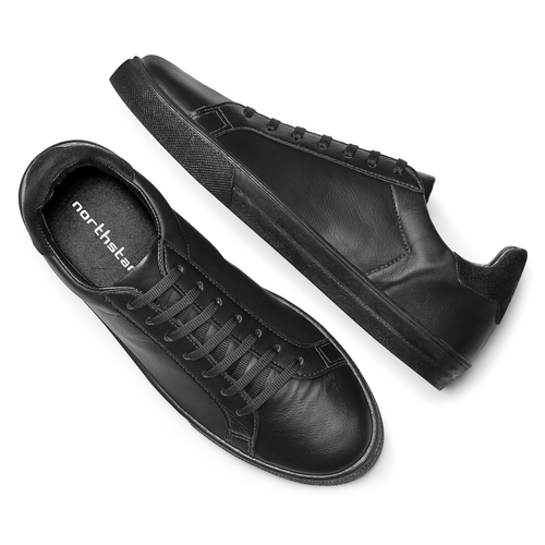 Sneakers nere da uomo north-star, nero, 841-6730 - 19