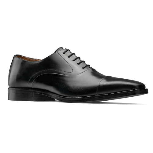 Scarpe Derby in vera pelle bata-the-shoemaker, nero, 824-6178 - 13