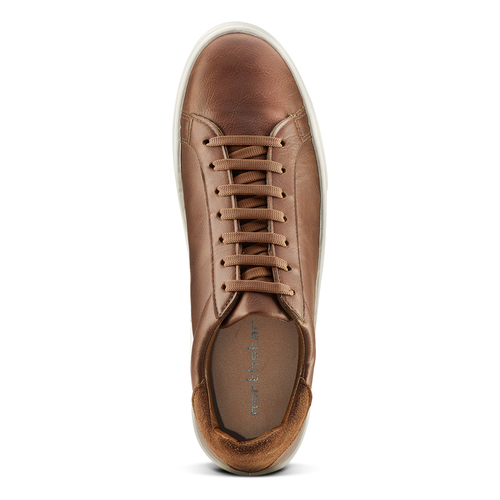 Sneakers uomo north-star, marrone, 841-4730 - 15