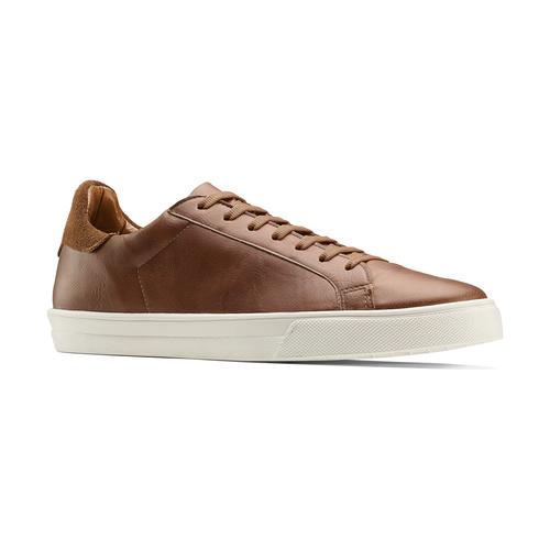 Sneakers uomo north-star, marrone, 841-4730 - 13