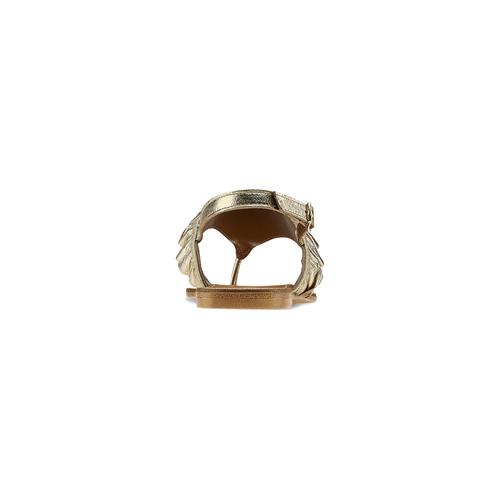 Sandali oro con volant bata, oro, 564-8118 - 16