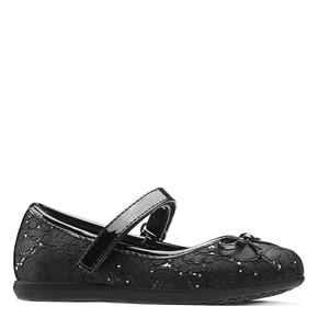 Ballerine nere in pizzo mini-b, nero, 229-6198 - 13