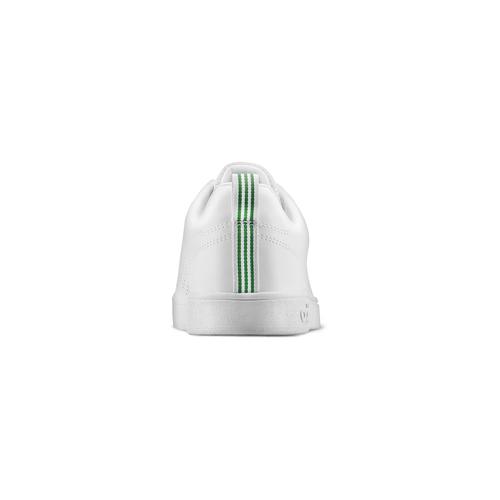 Adidas Neo in pelle sintetica bianca con tre strisce traforate adidas, bianco, 801-1200 - 16
