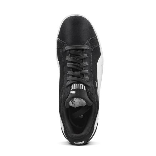 Sneakers da uomo in pelle puma, nero, 803-6312 - 15