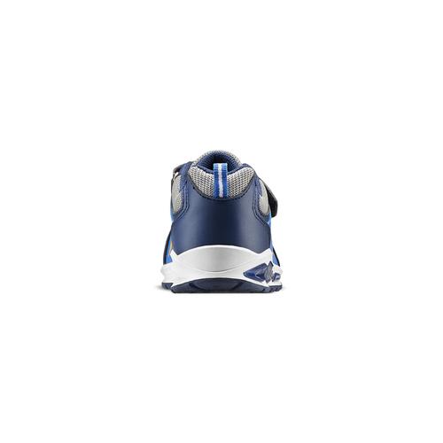 Scarpe basse con luci mini-b, blu, 211-9183 - 16