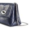 Borsetta in pelle a tracolla bata, blu, 964-9939 - 15