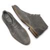 Polacchini da uomo in suede bata, grigio, 823-2105 - 19