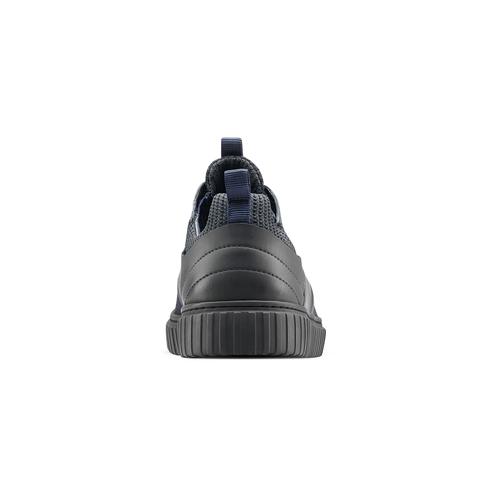 Sneakers con lacci da uomo bata, blu, 843-9119 - 16