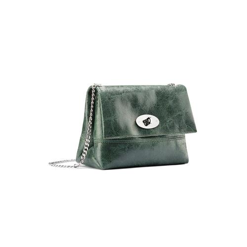 Mini-bag a tracolla bata, verde, 964-7739 - 13