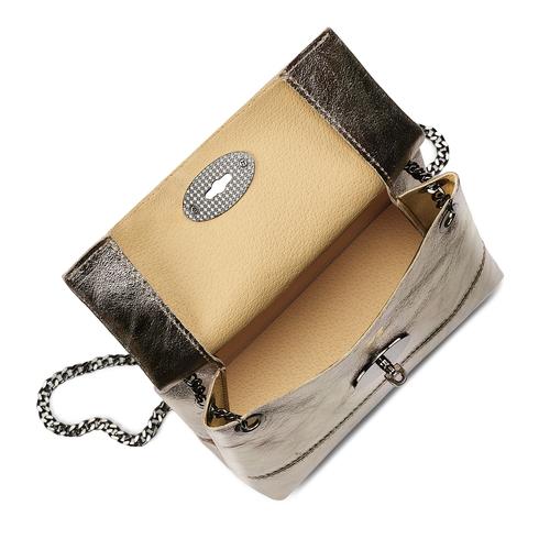 Mini-bag oro con catena bata, oro, 964-8839 - 16