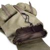 Zaino da uomo con coulisse bata, khaki, 969-7154 - 17