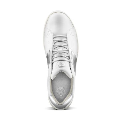 Sneakers donna Atletico bata, bianco, 541-1331 - 15