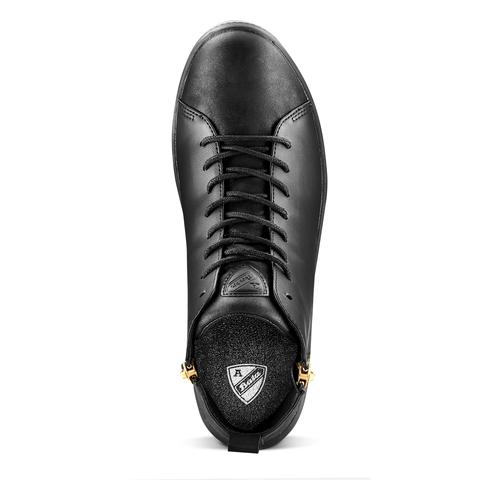 Sneakers alte Atletico bata, nero, 541-6338 - 15