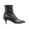 Stivaletti calzino con tacco bata, nero, 699-6171 - 26