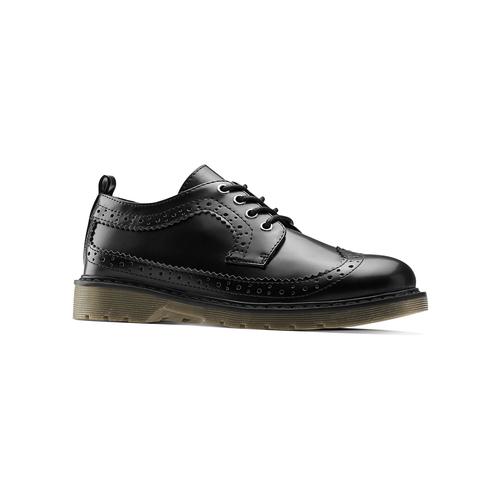 Scarpe basse con lacci mini-b, nero, 311-6276 - 13