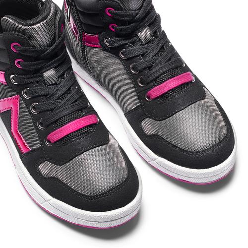 Sneakers stivaletto da bimba mini-b, nero, 321-6291 - 15