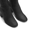 Stivali Kristen con tacco bata, nero, 799-6661 - 15