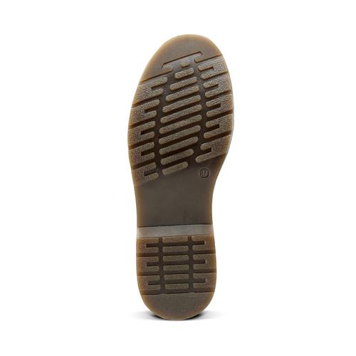 Stringate con suola contrasto bata, nero, 521-6667 - 17