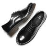 Stringate con suola contrasto bata, nero, 521-6667 - 19
