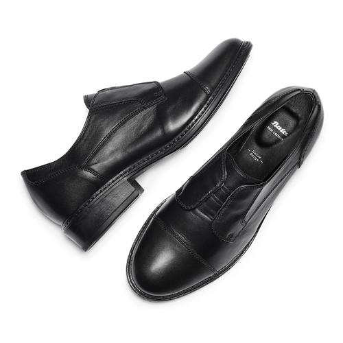 Scarpe basse da donna bata, nero, 514-6136 - 26