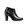 Stivaletti donna con tacco bata, nero, 794-6671 - 13