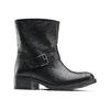 Ankle Boots in pelle con fibbia bata, nero, 694-6420 - 13