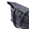 Shopper in Vera Pelle bata, blu, 964-9122 - 17