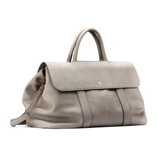 Handbag in similpelle bata, beige, 961-2203 - 13