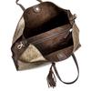 Shopper con borsello e nappina bata, oro, 961-8200 - 16