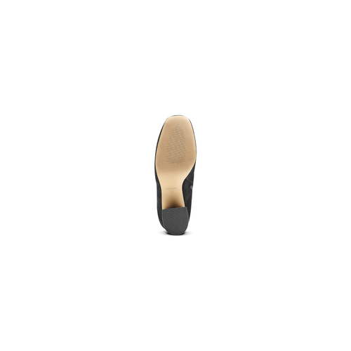 Stivali alti da donna bata, nero, 799-6155 - 17