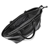 Borsa a spalla con borchie bata, nero, 961-6109 - 16