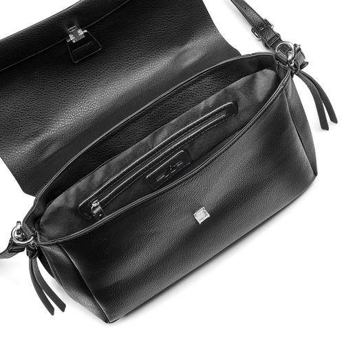 Borsa da donna espandibile con zip bata, nero, 961-6171 - 16