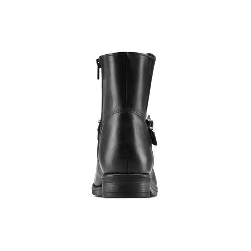 Ankle Boots da donna con borchie bata, nero, 591-6163 - 16