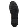Scarpe in vera pelle senza lacci bata, marrone, 824-4240 - 19