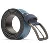 Cintura uomo con fibbia bata, blu, 954-9109 - 26