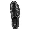 Scarpe da uomo con frange e fibbia bata, nero, 824-6163 - 15