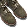 Stivaletti con lacci da uomo bata, verde, 893-7150 - 15